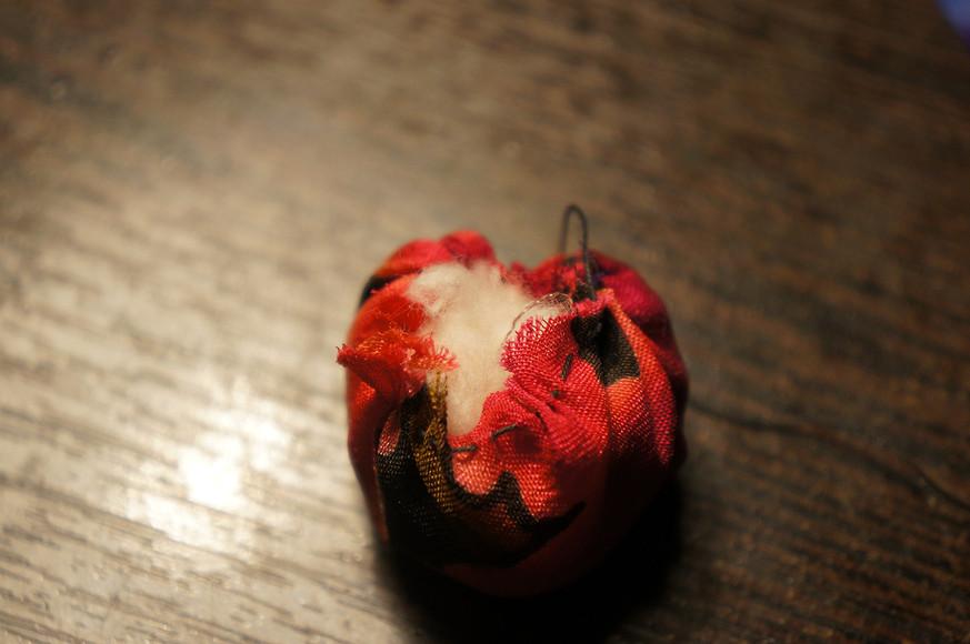 Текстильные бусы «АЛЯ РУС»