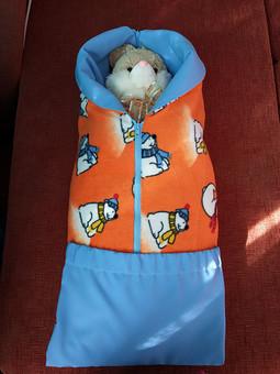 Работа с названием Конверт-одеяло для малыша