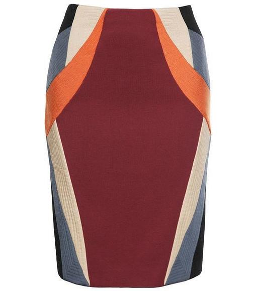Моделируем юбку встиле колор блок