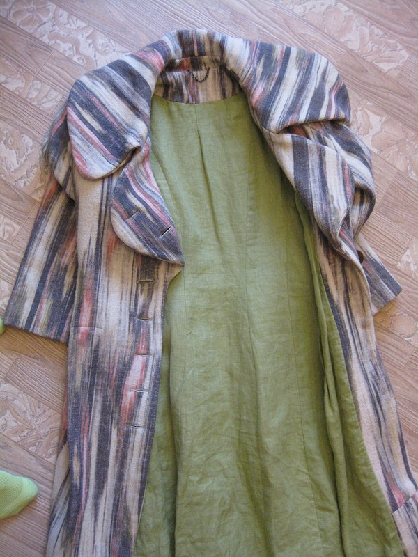 Пальто от Ежиха