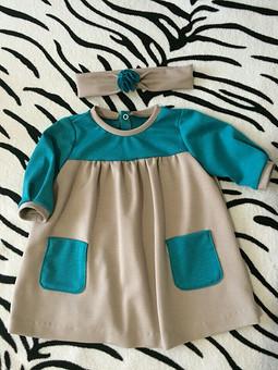 Работа с названием Платье для моей малышки
