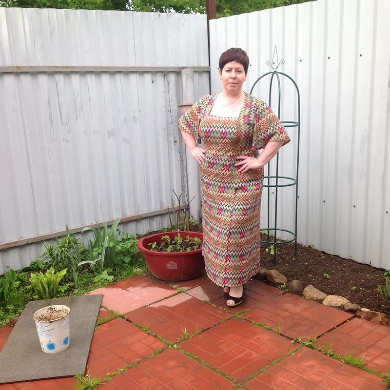 Платье силуэта ампир 5/2016  # 125в