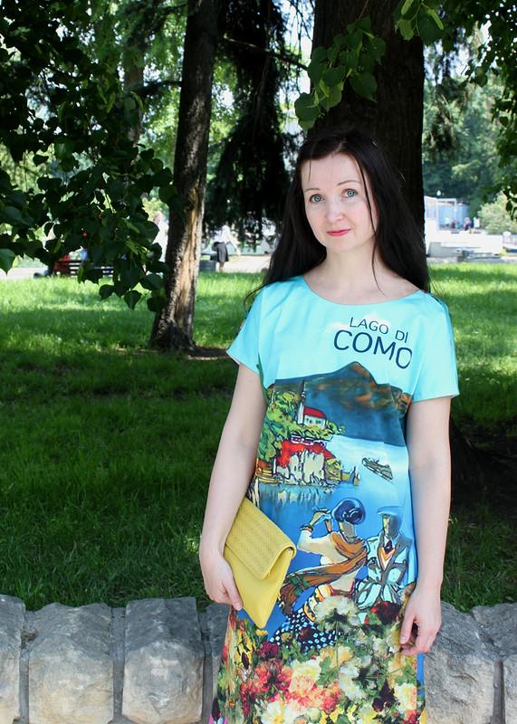 Платье-открытка