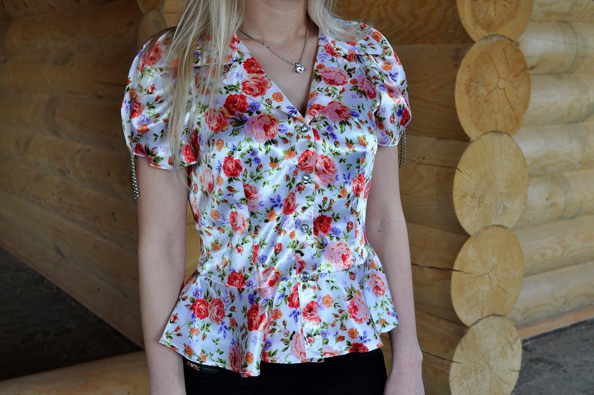 Блуза сбаской