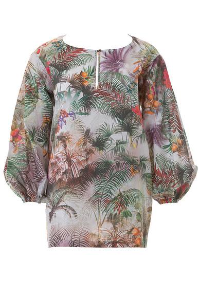 Шьём летнюю блузку спышными рукавами