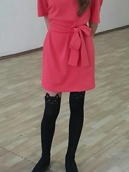 Работа с названием Платье на школьную дискотеку)