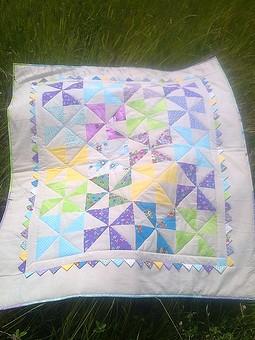 Работа с названием Лоскутное одеяло