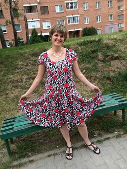 Работа с названием Платье летнее с обложки