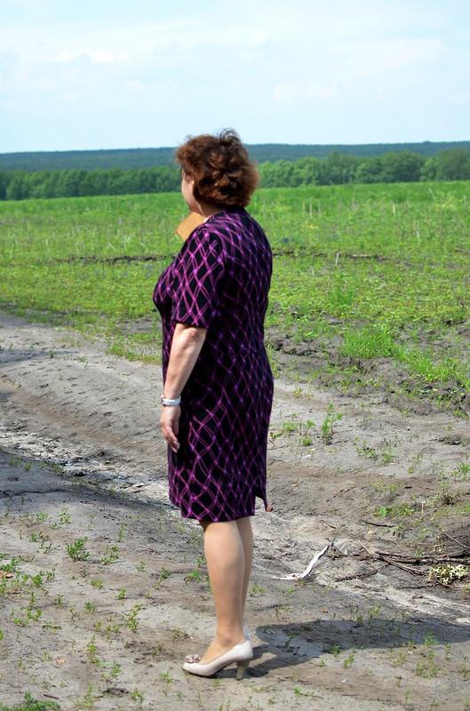 Платье Маме (р.50) от Юлия Гелемеева