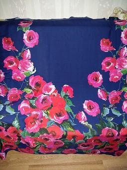 Работа с названием Штапельное платье