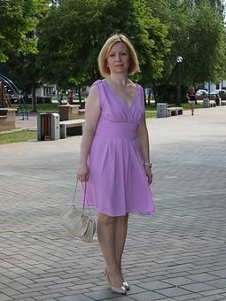 Работа с названием Платье на летнее торжество