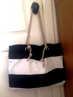 Работа с названием Пляжная сумка