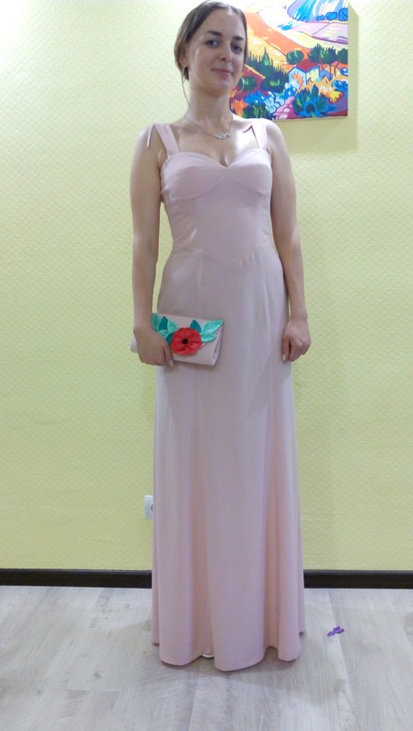 Платье впол