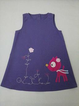 Работа с названием Платьеце для девочки