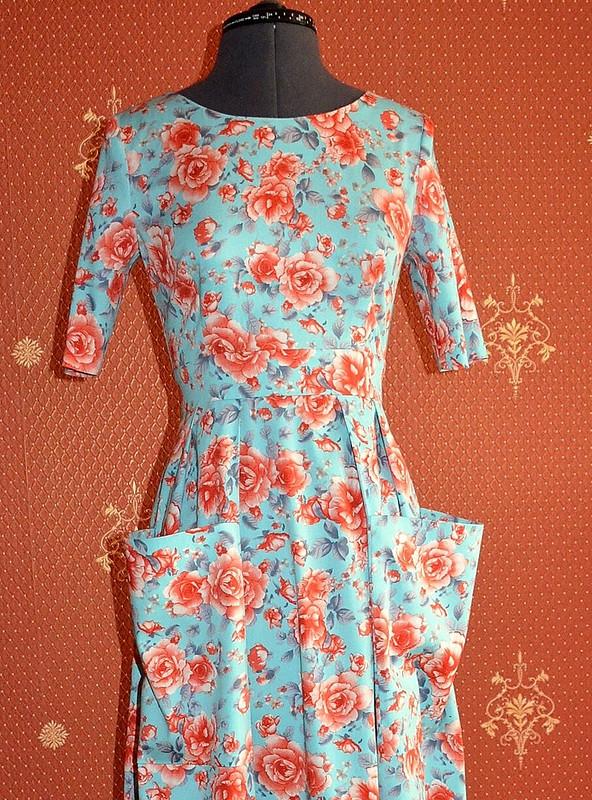 Разные платья поодной выкройке