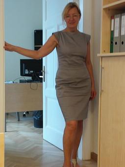 Работа с названием Маленькое платье