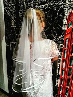 Работа с названием Скромное для невесты