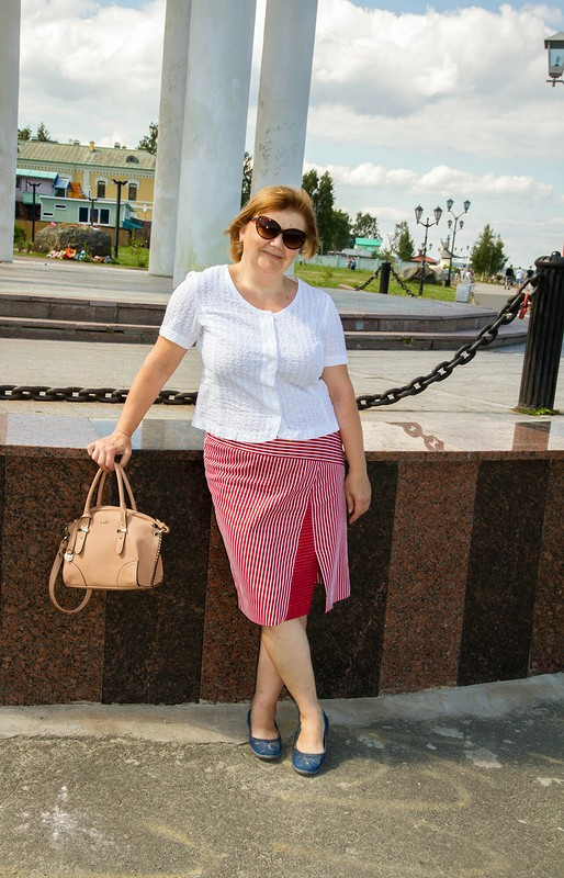 Сезон полоски: family look вюбках)))