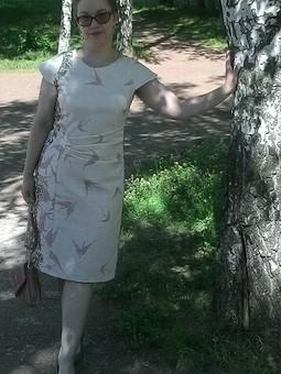 Работа с названием Три платья
