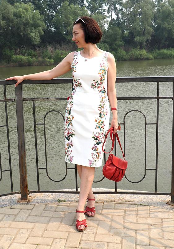 Платье безкапель