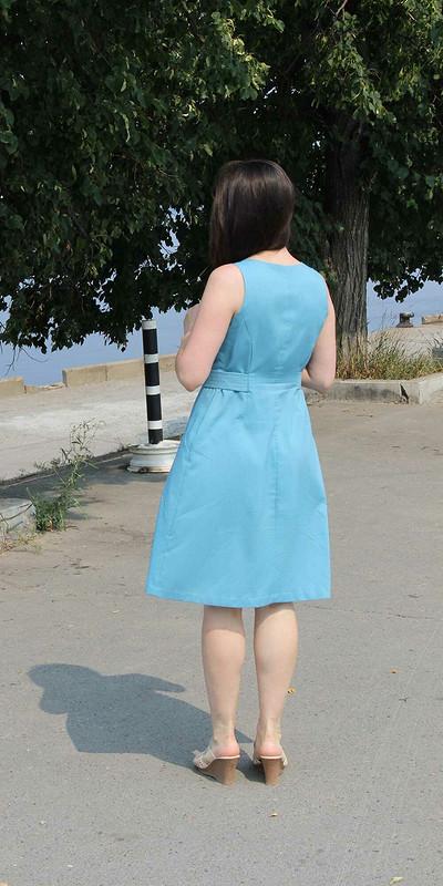Голубое платье от Suzanna-Suzy