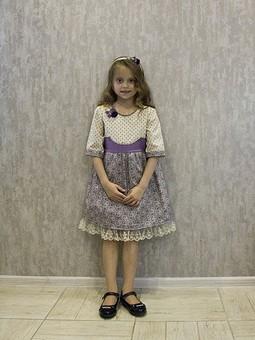 Работа с названием Детское платье2