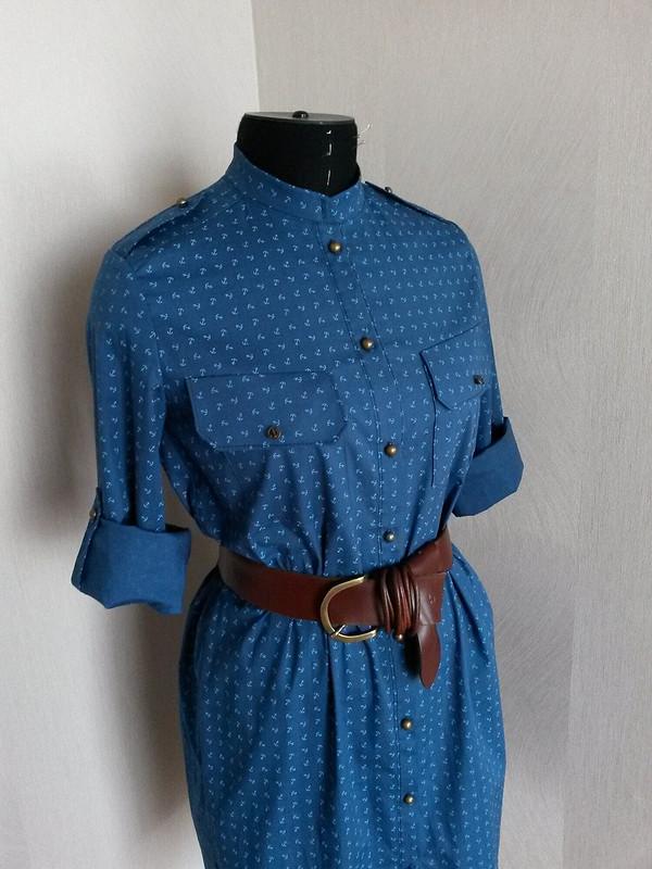 Платье-рубашка от Psu6a
