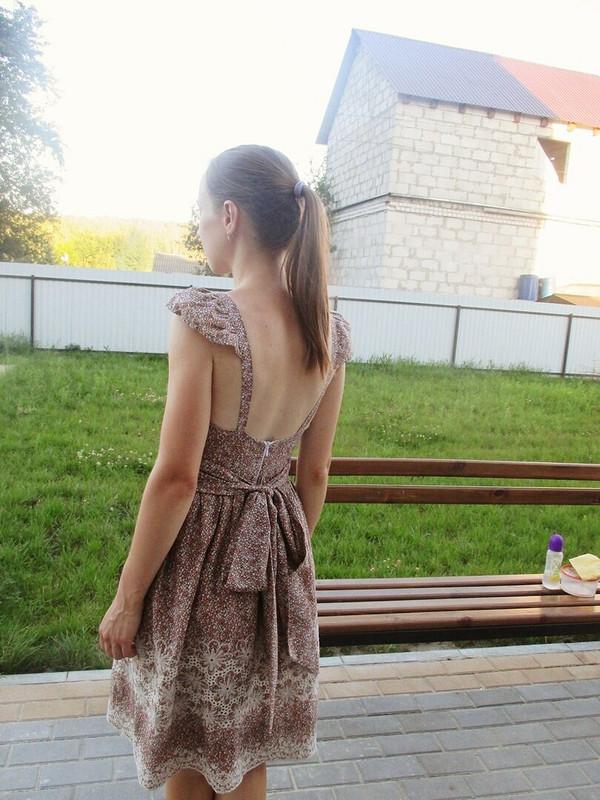 Платье соткрытой спиной