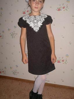 Работа с названием Платье в школу