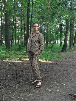 Работа с названием Пижама: брюки