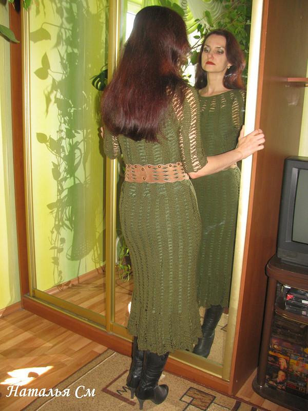 Платье крючком от Наталья См