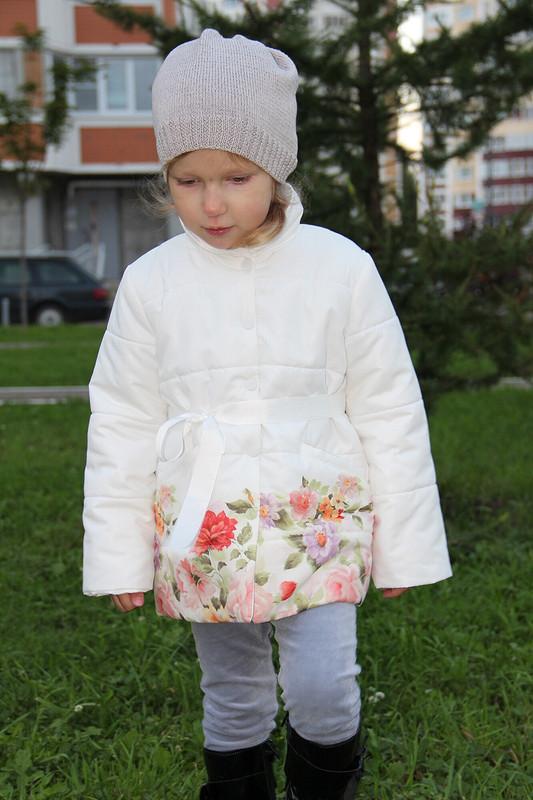 Пальто вцветочек от Екатерина М