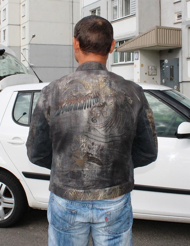 Куртка изджинса отРоберто Кавалли