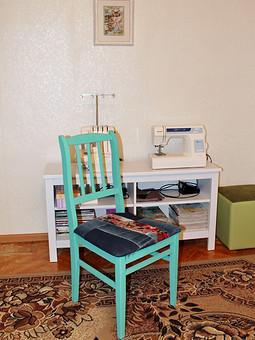 Работа с названием Реставрация стула