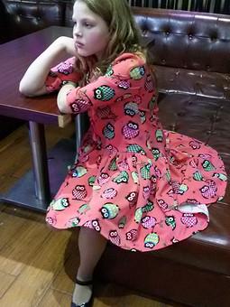 Работа с названием Платье Виктории Бекхэм....почти