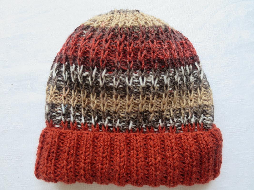 Годовой отчет, вязание,  шапки