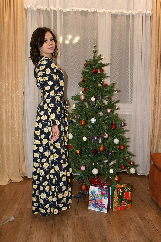 Платье наНовый Год длямоей дочери