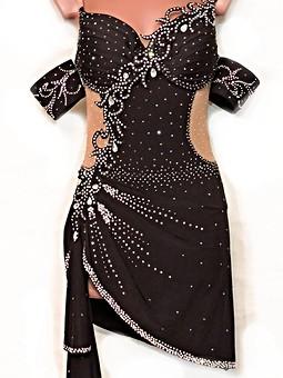 Работа с названием Платье для  танцев  Кураж