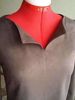 Работа с названием Мода в замше