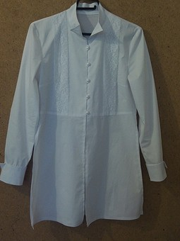 Работа с названием Блуза 212 burda шлиб 4/95