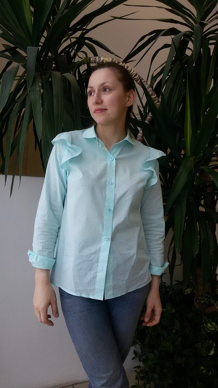 Блузка скрылышками от Gegenik