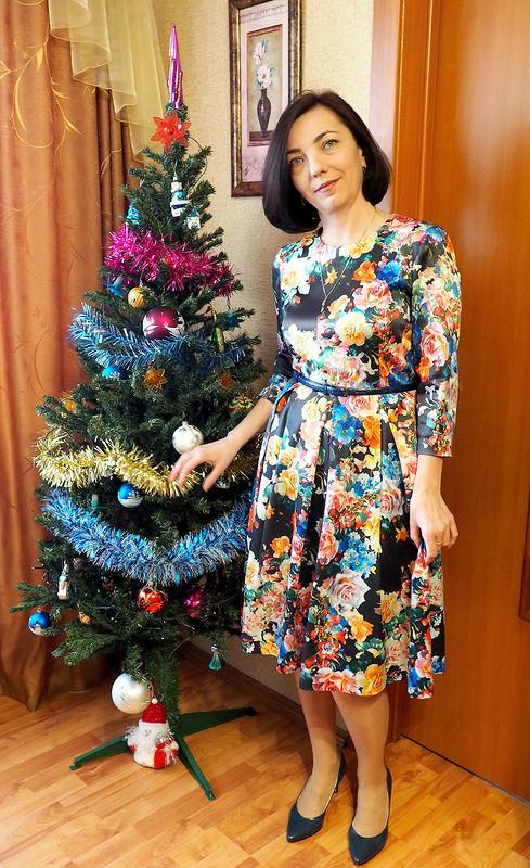 Новогодняя клумба от Ирина Шмидт