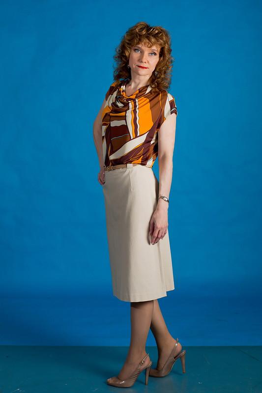 Трикотажная блузка от TatyanaTur