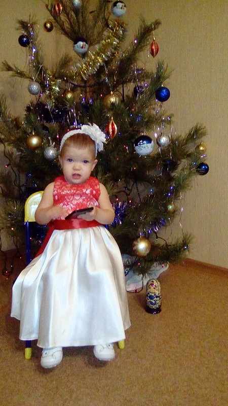 Платье дляпринцессы от Olesya Nazarova