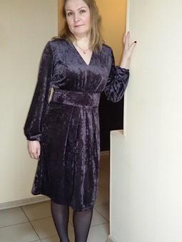 Работа с названием С Днём Рождения Светлана, Ольга и Инна! или Бархатное платье