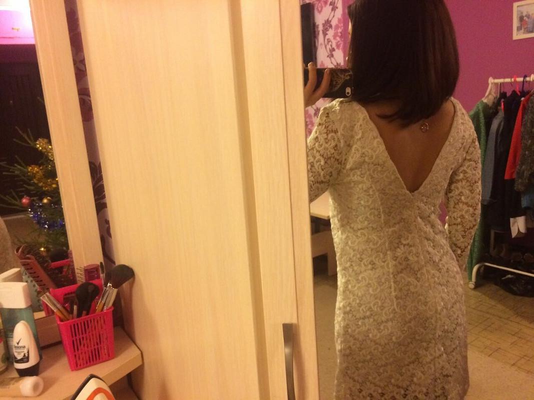 Нежное платье изкружева