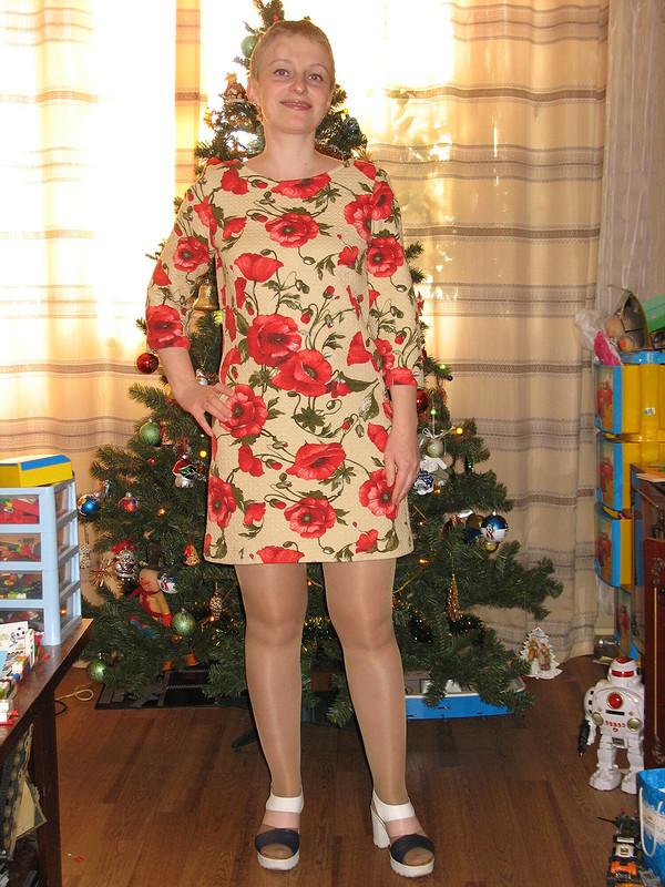 Платье «Маки» от uekmrbyf