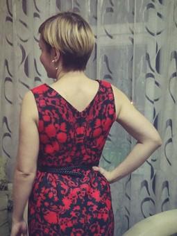 Работа с названием Платье 5/2014