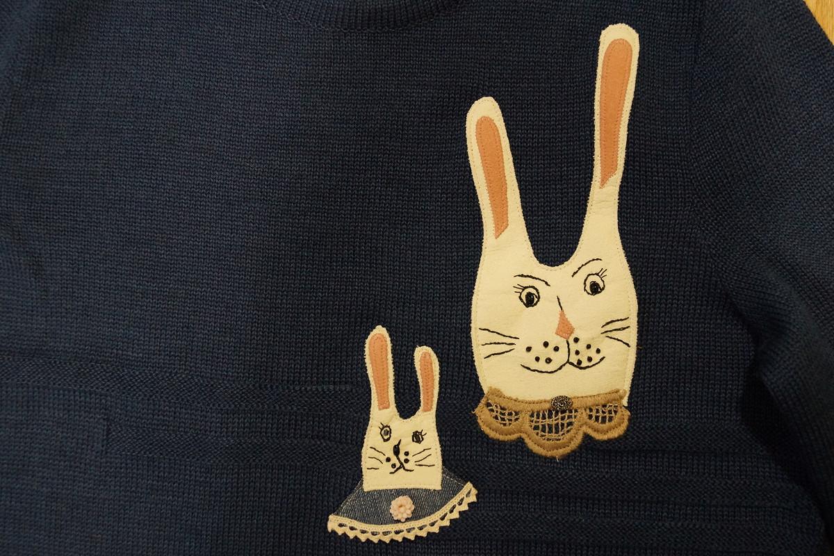 Свитер «Семья кроликов