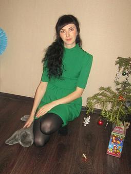 Работа с названием Новогодняя елка
